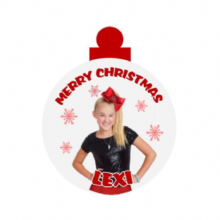 Jo Jo Siwa Acrylic Christmas Ornament Decoration